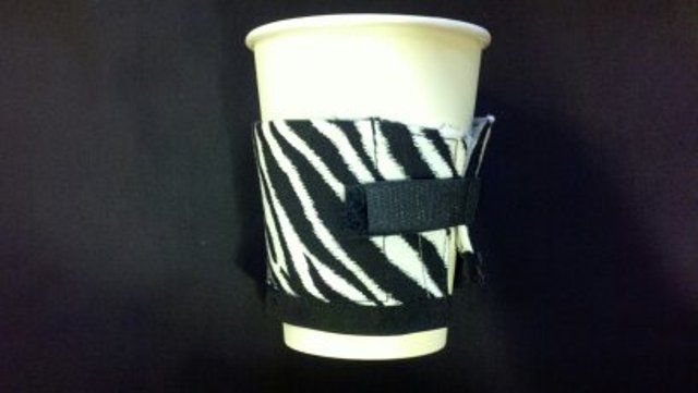 Java Wraps - Fabric Coffee Cup Insulator
