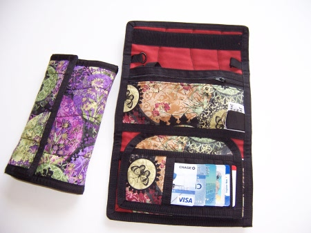 Clutch-N-Go Fabric - Wallet Organizer