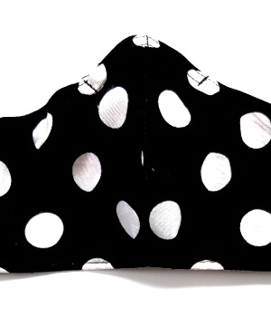 French Polkadot White